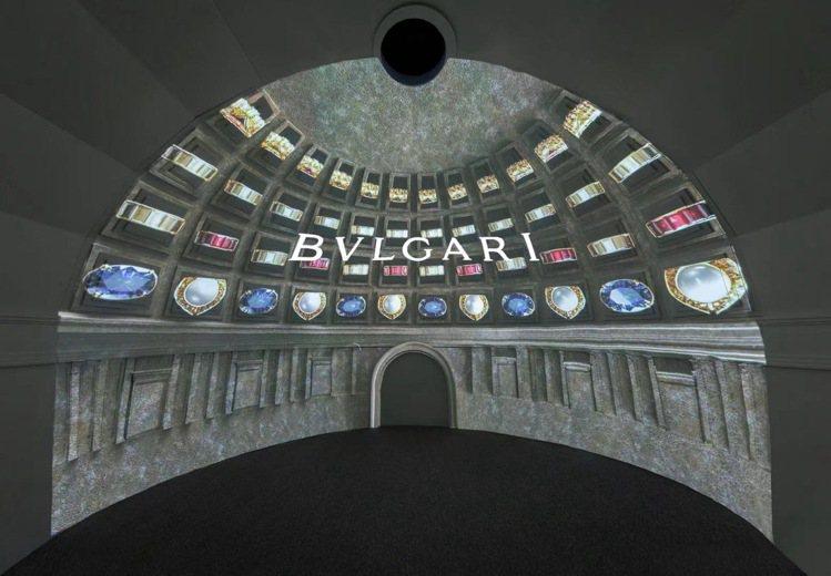 寶格麗MAGNIFICA ROMA意遊未盡巡展於上海上生·新所舉辦。圖/寶格麗提...