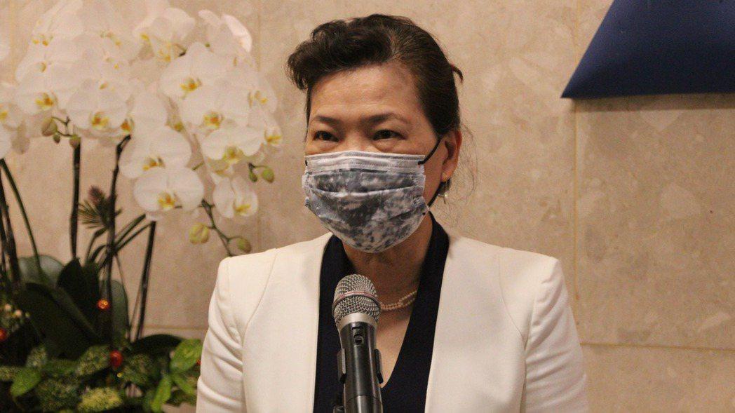經濟部長王美花。記者鍾泓良攝影