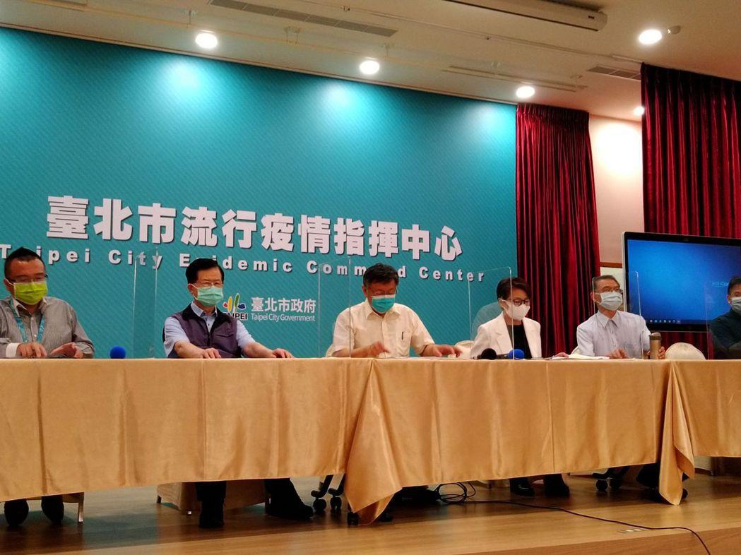 柯文哲也說,北市府已經匡列危險地區民眾,包括萬華區桂林路、康定路、和平西路三段、...