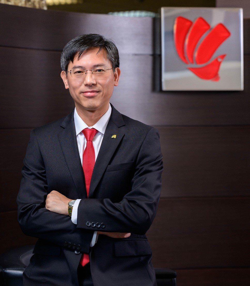 三商美邦人壽新任總經理,財務長陳宏昇升任。 三商美邦/提供