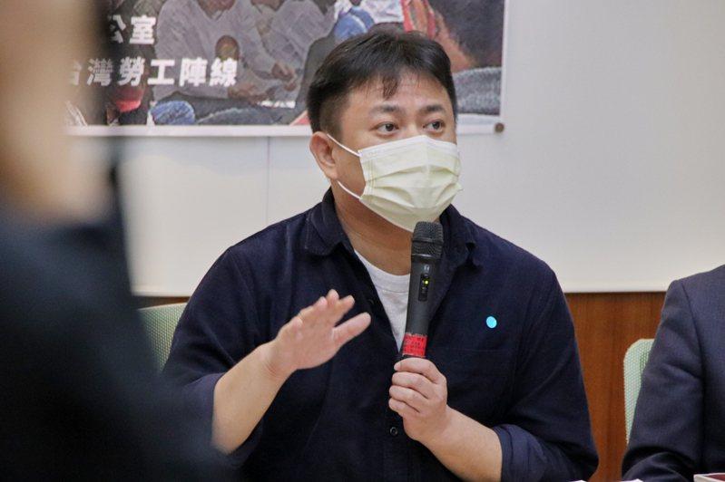 民進黨立委洪申翰。 本報資料照片