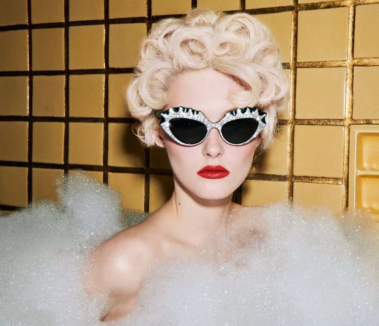 Gucci Hollywood Forever眼鏡系列推出新品。圖/Gucci提...
