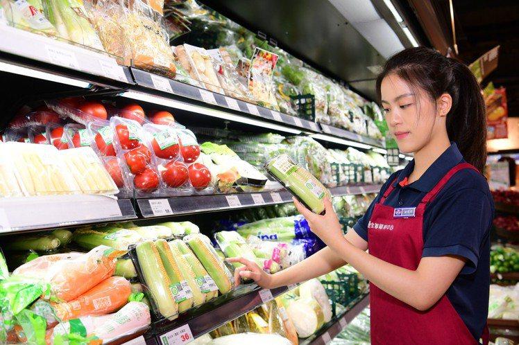 全聯2021年中慶喊出「全民有機、安心履歷」口號,提供新鮮的有機蔬菜與產銷履歷商...