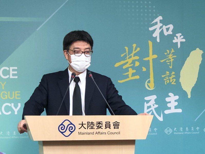 大陸國台辦點名外交部長吳釗燮是「台獨頑固分子」,陸委會指,陸方無權對我政府官員無理指涉。記者林汪靜/攝影