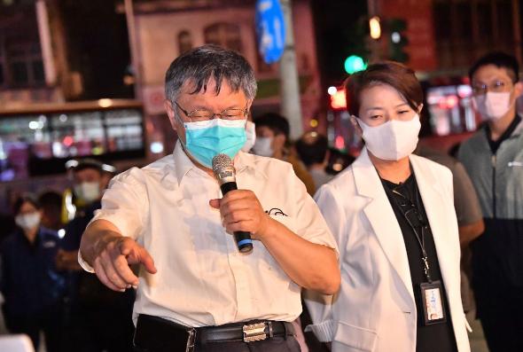 全台大停電,會不會再掀擁核、反核論戰?柯文哲說,這是專業題目,但台灣最重要應該是建立一個用專業處理問題,「常常不要政治凌駕專業。」圖/北市媒體事務組提供