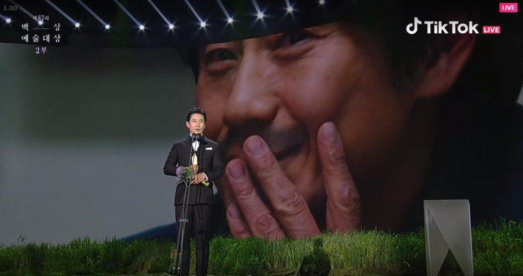 申河均「怪物」秀出驚人演技。圖/摘自TikTok