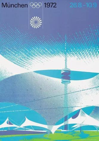 著名設計師奧托.艾舍(Otl Aicher)為1972年德國慕尼黑奧運設計的Lo...