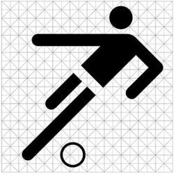 奧托安.艾舍為奧運設計的符號,讓人們跨越語言障礙。(網路照片)