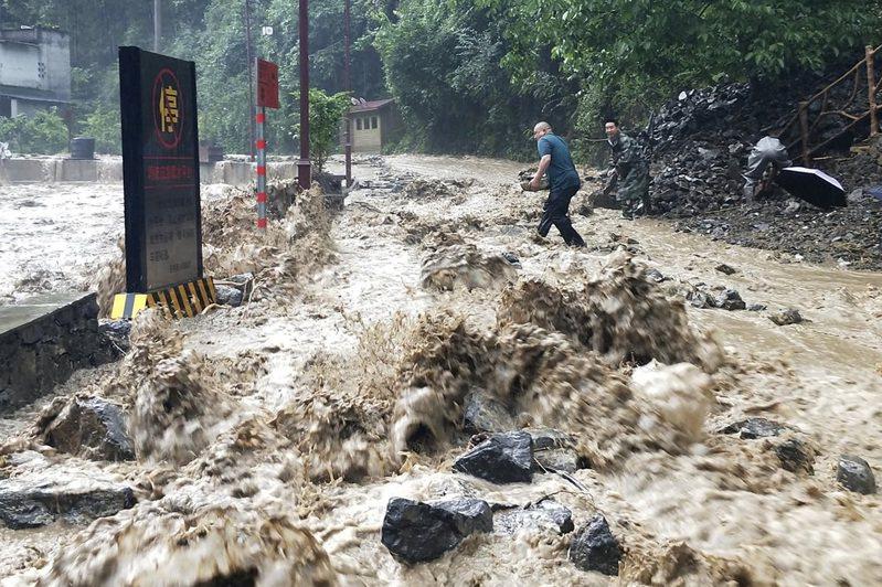 英國風險顧問公司VM表示,全球生態風險最嚴重的100座城市中,亞洲就占了99座。(美聯社)