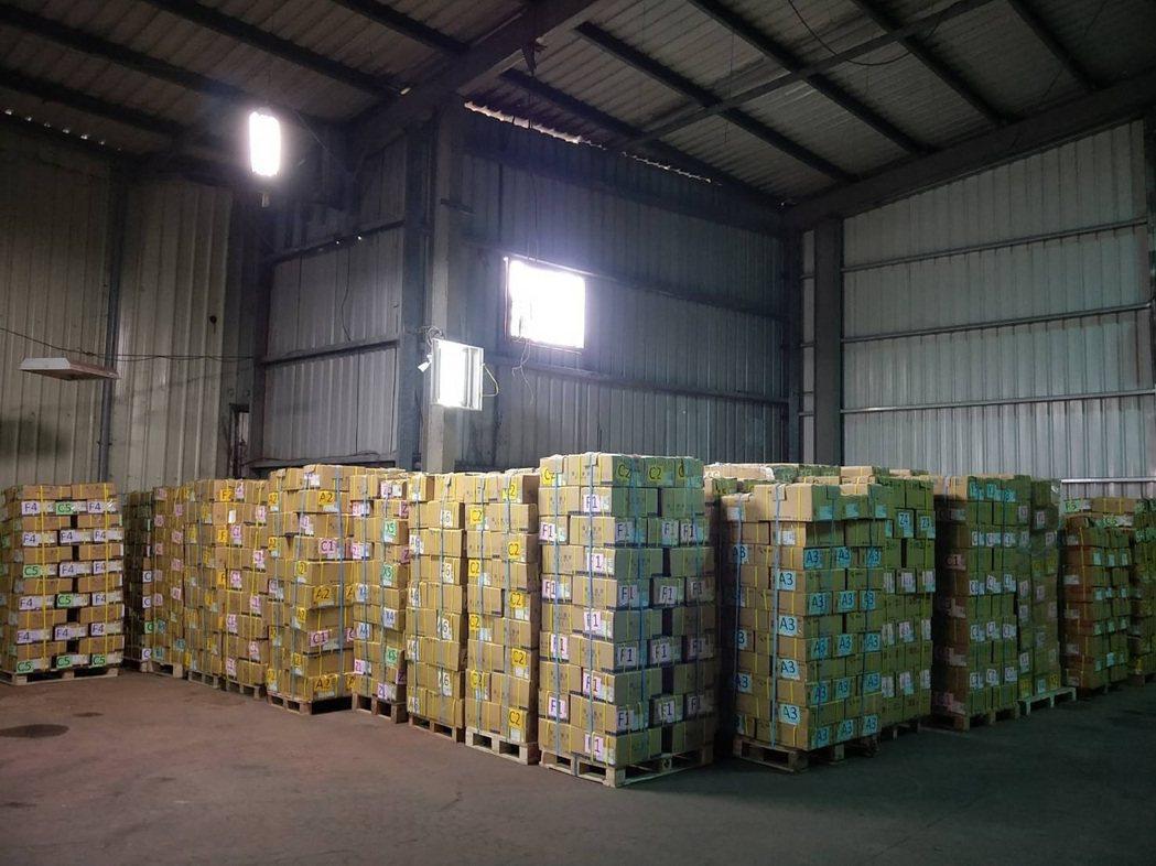 服務團4年來運送超過百公噸的物資。 圖/林語珊提供