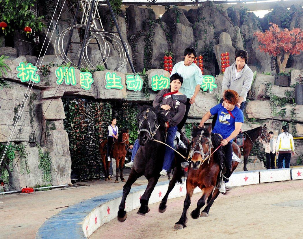 杭野世界設有「世界動物風情展」、「森林小火車」、「互動表演」等節目,吸引大批的親...