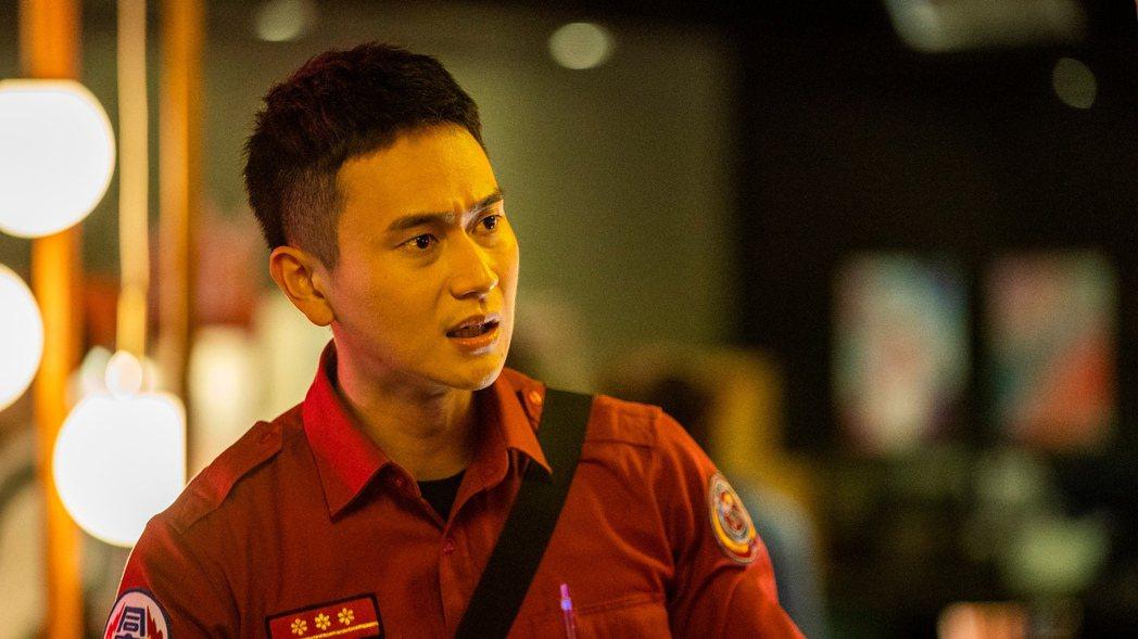 劉冠廷在「火神的眼淚」中演消防弟兄。圖/公共電視與myVideo提供