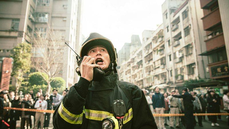 「火神的眼淚」劉冠廷飾正義消防員。圖/公視、myVideo提供