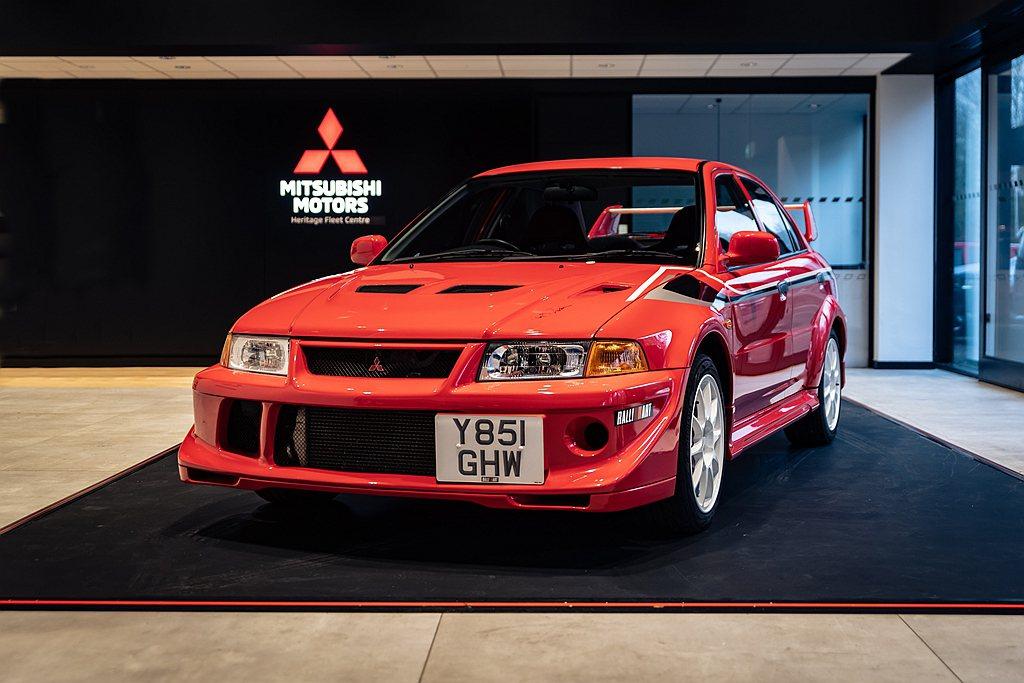 三菱汽車英國分公司日前拍賣多輛原廠收藏車,各車的成交金額已經出爐。 圖/Auto...