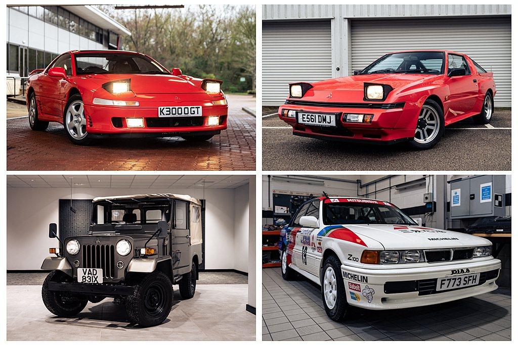 其他像是三菱Starion、3000GT經典跑車也拍出21,100英鎊(約台幣8...