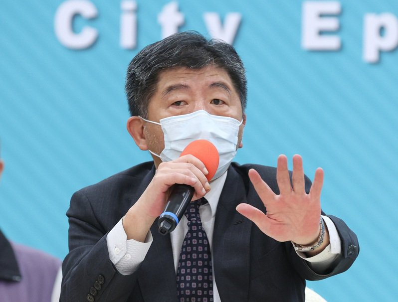 中央流行疫情指揮官陳時中。記者林澔一/攝影