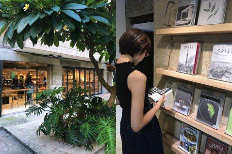 當季最新的日文雜誌,只要點一杯咖啡,就可以享受一下午的最新流行資訊。 圖/李清志...