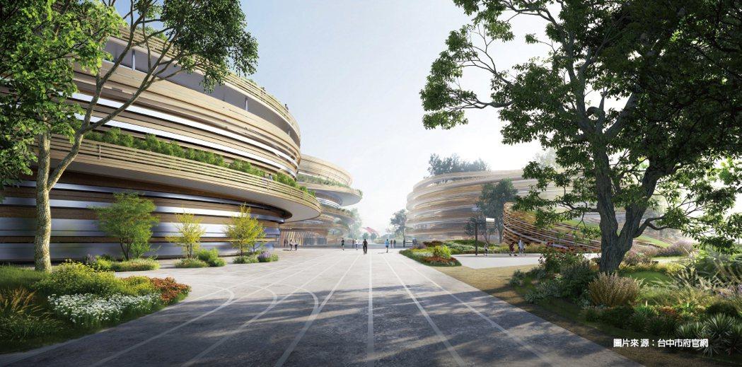 台中巨蛋預計2026年完工,帶動藝文、運動經濟。