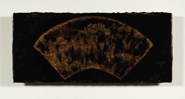 蘇孟鴻〈漆藝練習〉。(圖/耿畫廊提供)