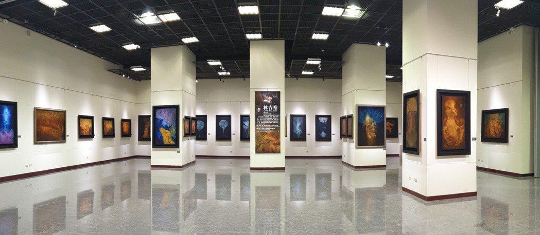 林吉裕(五兆) 在國立中正紀念堂一樓第2展廳舉辦「砍劈編織」法的作品創作展。林吉...