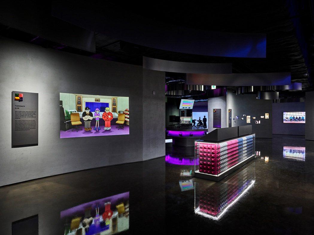 韓團防彈少年團 (BTS)東家HYBE為旗下藝人打造的專屬博物館HYBE INS