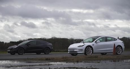 影/傳說2021 Tesla Model 3 Performance變快了!新舊車來尬看看!