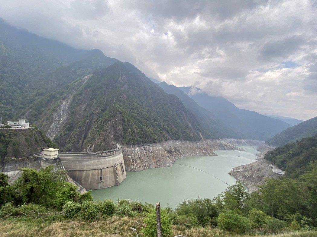 4月16日的德基水庫。本報資料照片,記者趙容萱/攝影