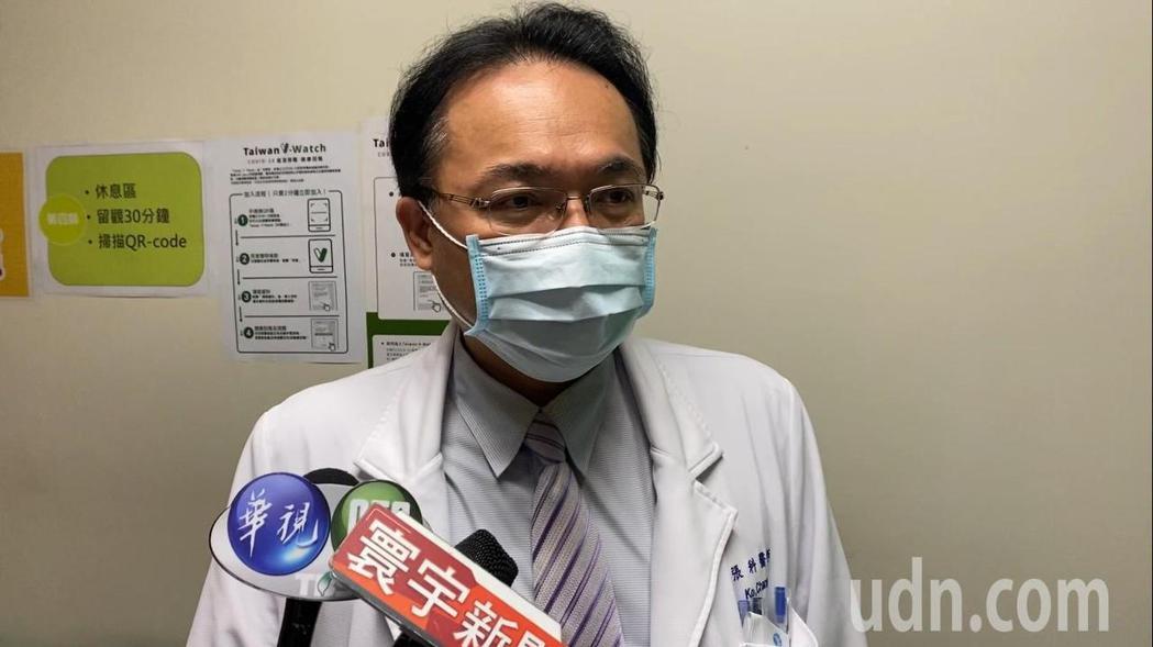 小港醫院感控主任張科呼籲,國人這段時間減少跨區流動,減少感染風險。記者王昭月/攝...
