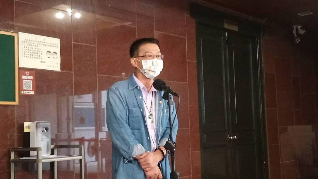 民進黨立委許智傑。記者吳亮賢/攝影