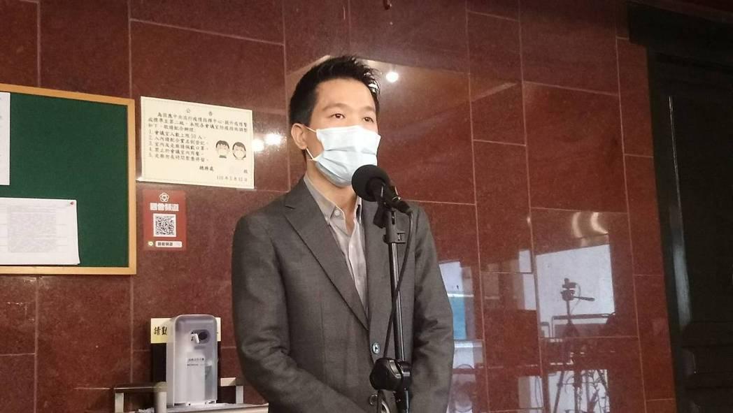 民進黨立委何志偉。記者吳亮賢/攝影