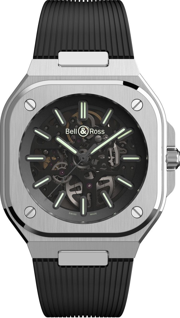 Bell & Ross BR 05 Skeleton Nightlum腕...
