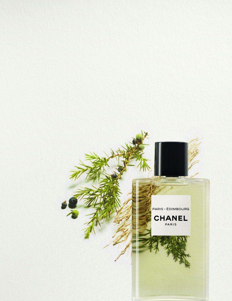 香奈兒「巴黎-愛丁堡」淡香水/125ml/4.980元,5月28日指定櫃點上市。...