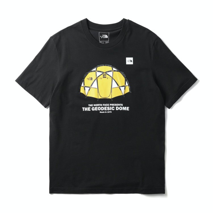 The North Face男裝T恤1,480元。圖/The North Fac...
