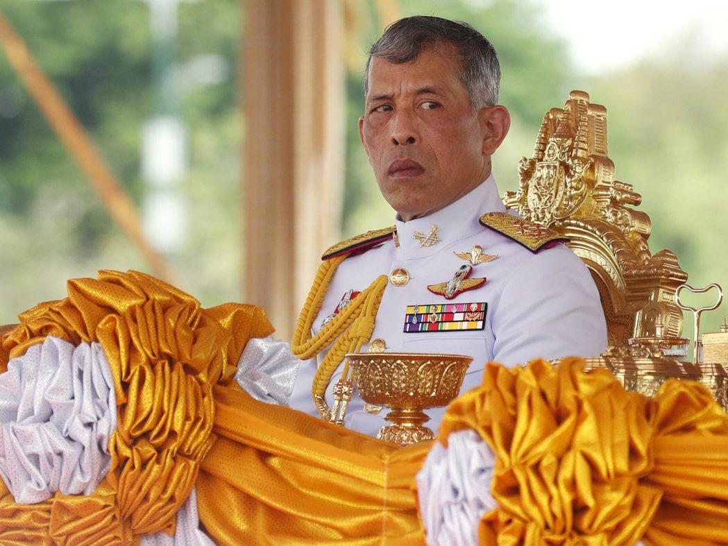 泰國國王瓦吉拉隆功(歐新社)