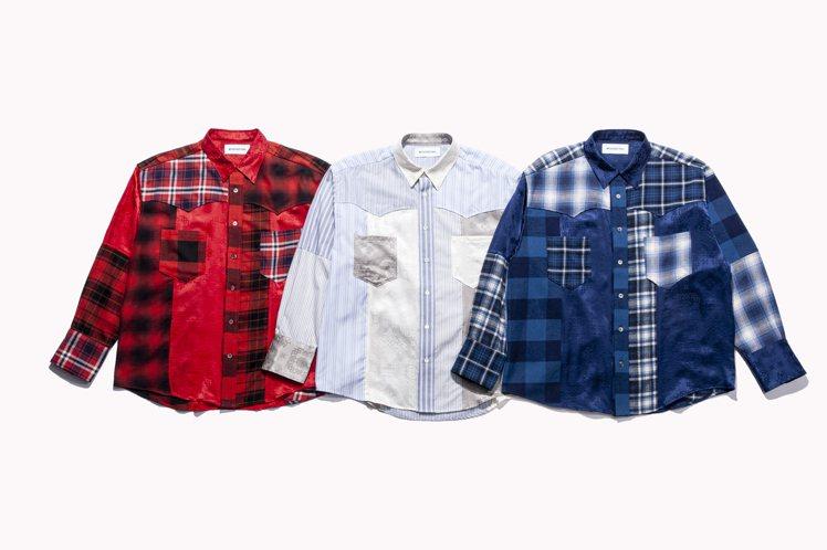 CLOT x MIYAGIHIDETAKA聯名長袖襯衫16,380元。圖/JUI...