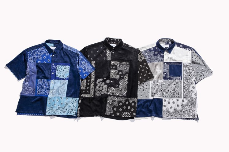 CLOT x MIYAGIHIDETAKA聯名短袖襯衫15,880元。圖/JUI...