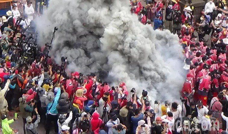 內政部呼籲宗教團體配合停辦遶境等活動,圖為進香示意圖。記者蔡維斌/攝影