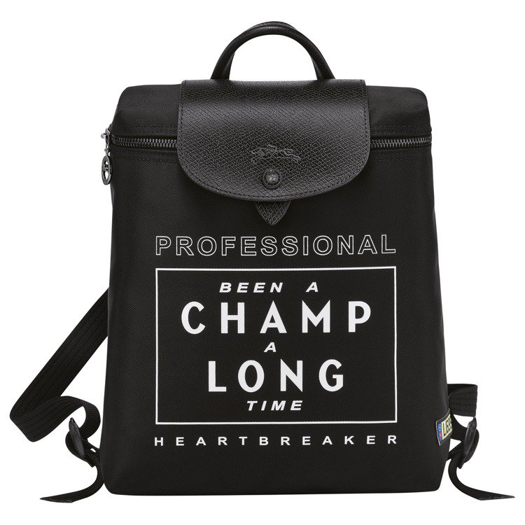 Longchamp x EU系列Le Pliage尼龍後背包,7,200元。圖/...