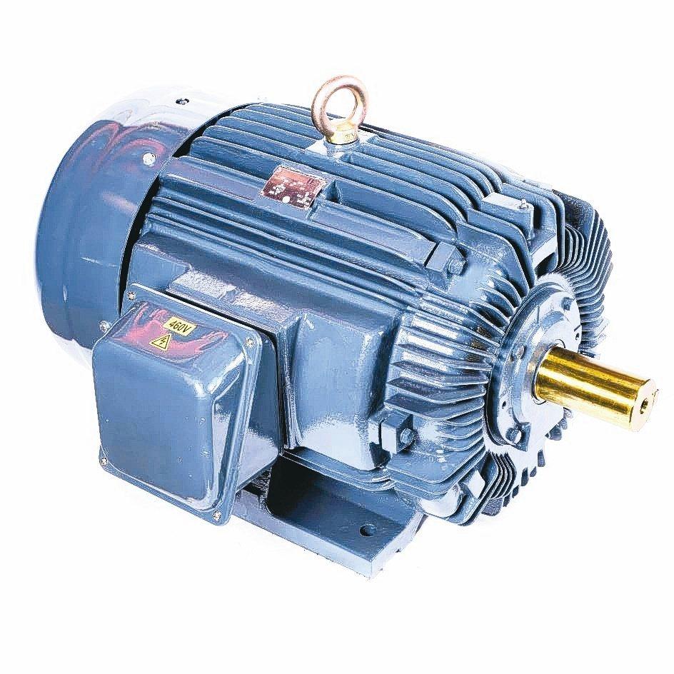溥源電機推出100HP4P IE3馬達。溥源電機/提供