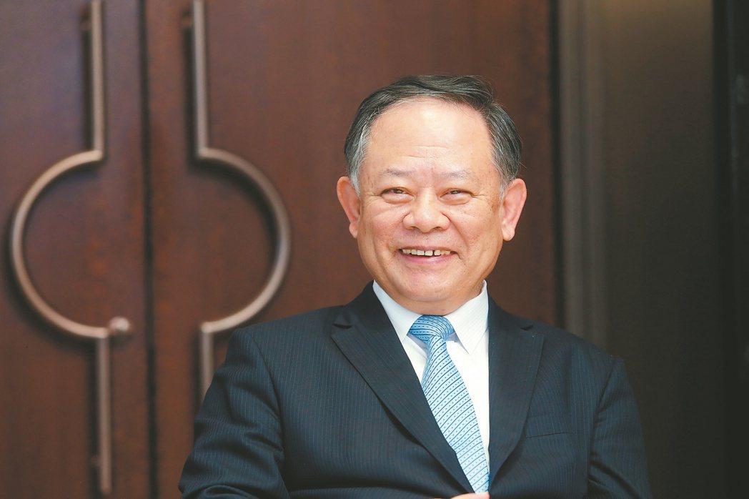 華南金控董事長張雲鵬。記者邱德祥/攝影