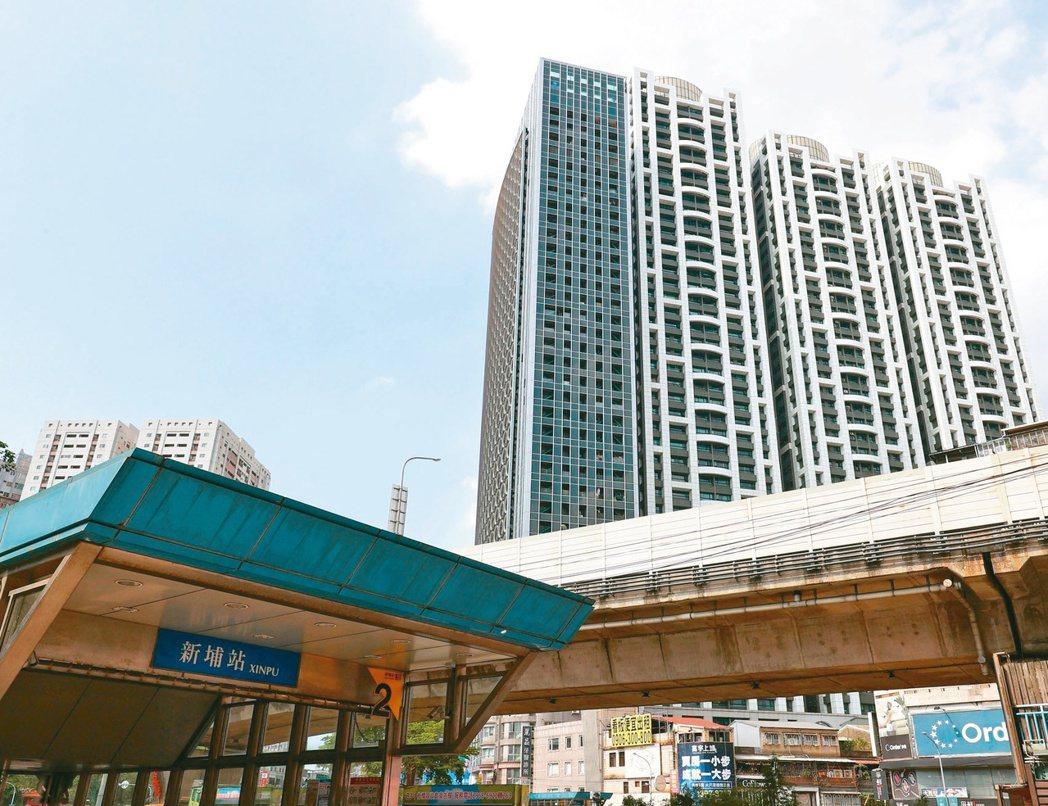 板橋新埔生活圈發展得早,生活機能成熟,在捷運環狀線通車後,更成為雙捷運交會區,吸...