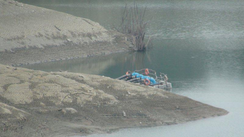 永和山水庫供應竹南、頭份及新竹部分地區用水。報系資料照