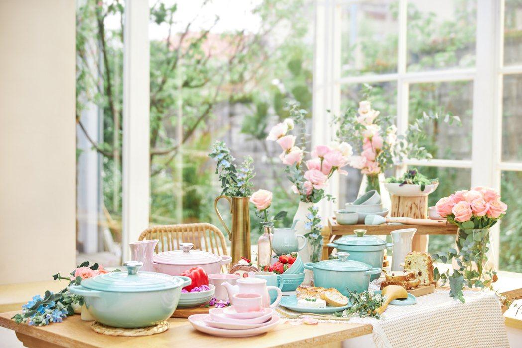 Le Creuset以The Spring Feast為主題,推出指定鍋具、瓷器...