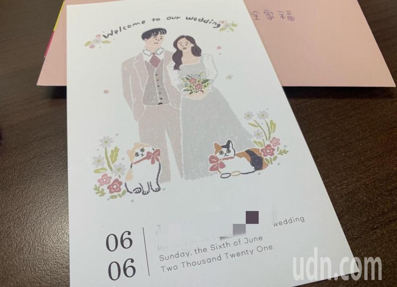 劉姓新人將在6月初舉辦婚宴,喜帖都已寄發,臨時又要取消,相當無奈。記者吳淑玲/攝影