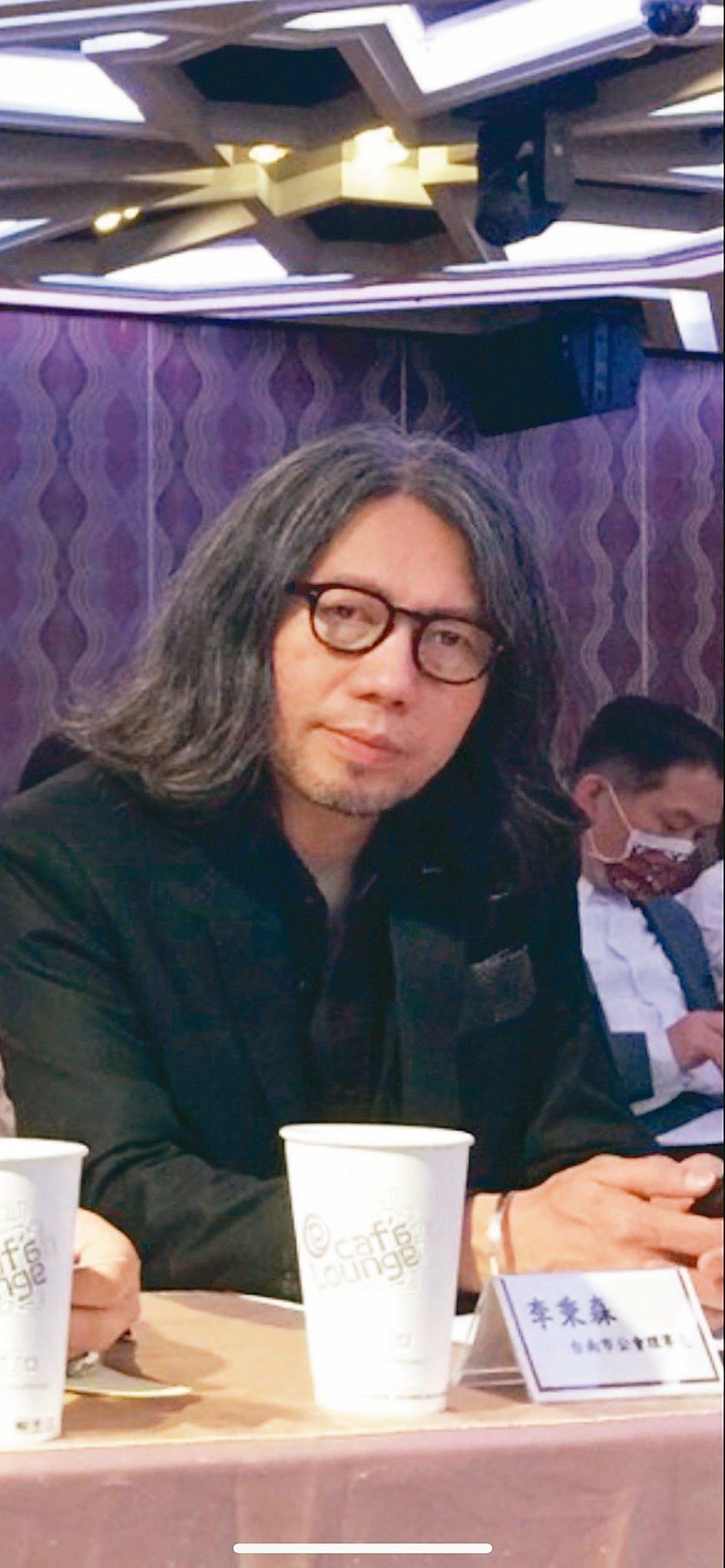 臺南市室內設計裝修商業同業公會理事長李秉森。 楊鎮州/攝影