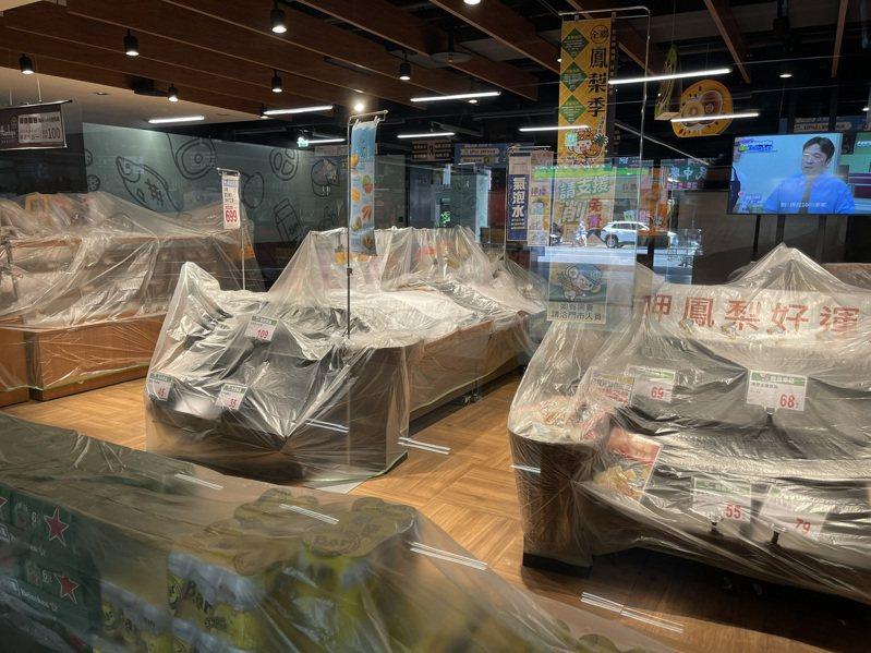 案1289曾出入的健身房,已完成清消,匡列的247人採驗,所幸都呈陰性。記者劉學聖/攝影