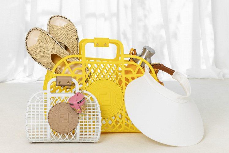 FENDI Basket造型包款,(中)28,500元、(小)20,500元。圖...