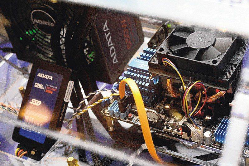 電腦硬碟也能賺錢!奇亞幣掀起新的數位貨幣投資熱。圖/聯合報系資料照片