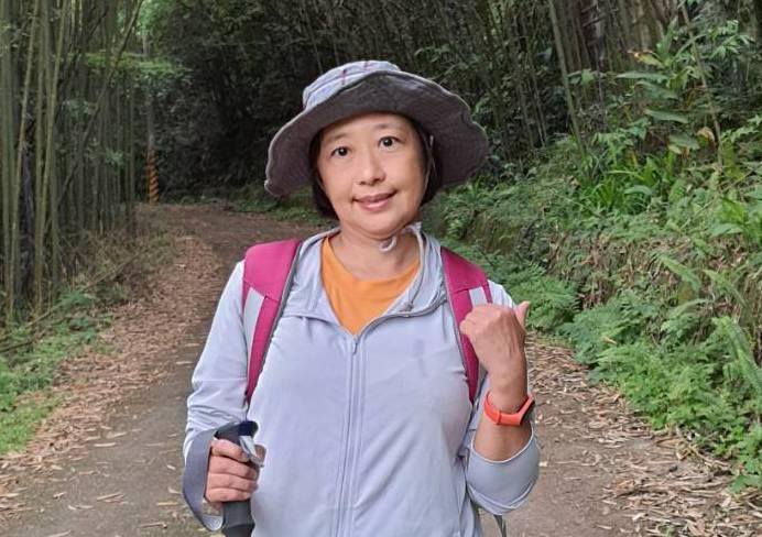 正面陽光的林紹昀,曾罹患躁鬱症與乳癌第三期。圖片由林紹昀授權「有肌勵」刊登
