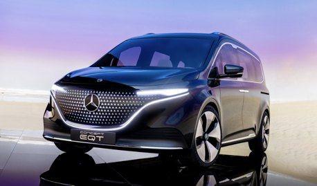 豪華商旅踏入電動領域 全新Mercedes-Benz EQT Concept純電商旅亮相!